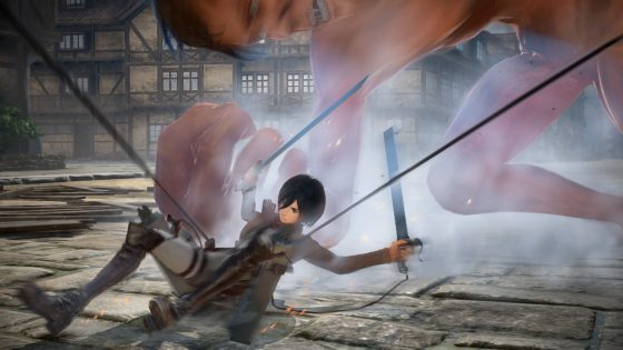 AttackonTitan2_Screenshot01-560x315 Pre-Order Details For ATTACK ON TITAN 2 Revealed!