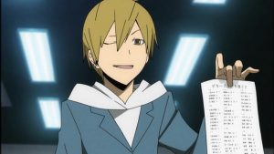 Anime Birthdays: Masaomi Kida from Durarara!!