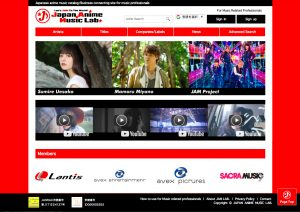 JAM LAB. The Official Japan Anime Music Site is Now LIVE!
