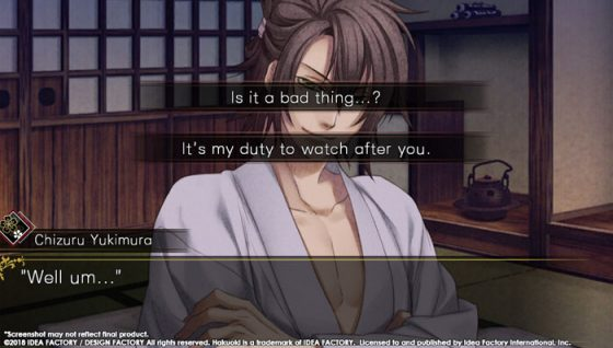 1-Hakuoki-Edo-Blossoms-Capture-300x376 Hakuoki Edo Blossoms - PlayStation Vita Review
