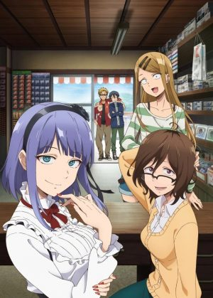 Dagashi-Kashi-Wallpaper-1 Top 10 Best Short Anime Series of 2018 [Best Recommendations]