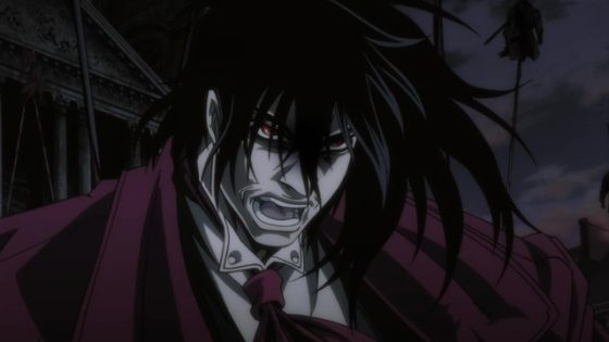 Hellsing-Ultimate-wallpaper Who is Van Helsing as Seen in Hellsing?