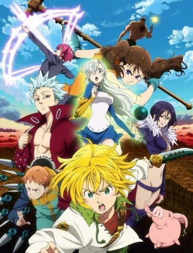 Nanatsu-no-Taizai-Imashime-no-Fukkatsu-dvd-381x500 Fantasy & Supernatural Anime - Spring 2018: Fantastic Adventures, Powerful Mages, Magical Girls, Magical Boys, and Persona?! Spring Has a Strong Lineup!