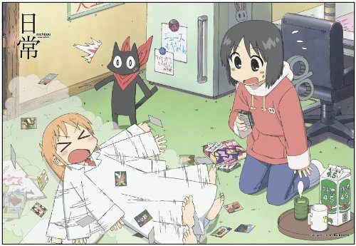 Nichijou-Wallpaper-500x345 Top 10 Best Slice of Life Anime of the 2010s [Best Recommendations]