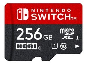 Nintendo and Hori to Release Official 256GB Micro-SD Card for Nintendo Switch