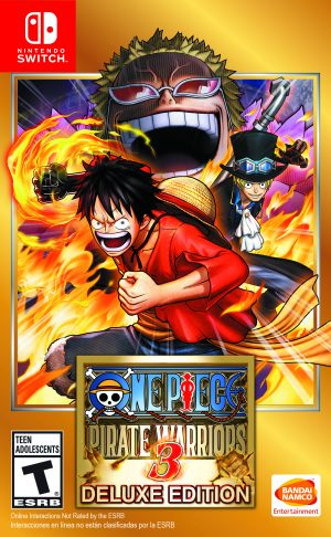 ONE PIECE Pirate Warriors 3 Deluxe Edition Hits Nintendo Switch May 10th!