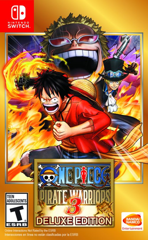 one piece pirate warriors 3 deluxe edition hits nintendo switch may 10th