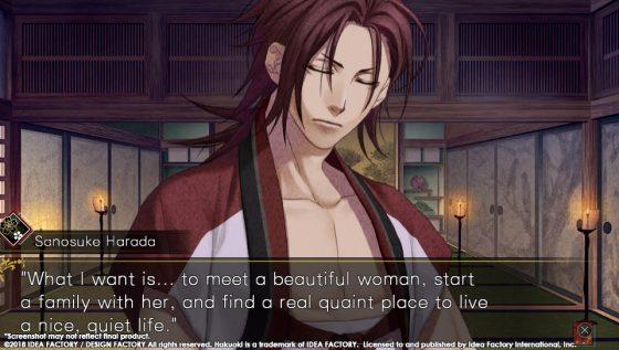 Hakuouki-6 Fresh New Screenshots from Hakuoki: Edo Blossoms! Harada + Iba!