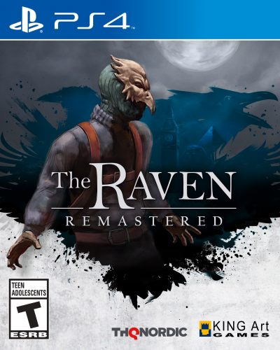 The-Raven-Remastered-PS4_2D_Packshot_2D_ESRB-400x500 The Raven Remastered- PS4 Review