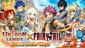 Real-Time Action RPG: Unison League Collaborates with Fairy Tail!!
