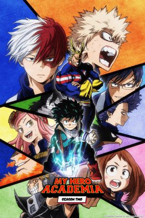 Boku-no-Hero-Academia-2nd-Season-Anime-Visual-333x500 Boku no Hero Academia Movie Drops Title, Key Visual, Release Date & More!