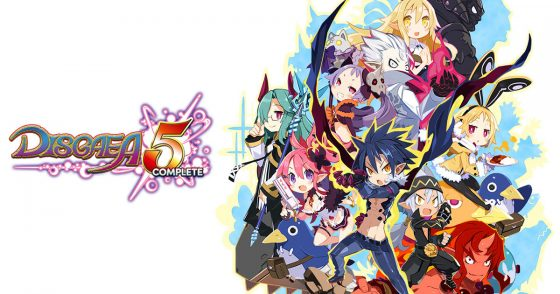 Disgaea5-Complete-logo-PC-560x294 Disgaea 5 Complete for PC Arrives Exclusively on Steam May 7, 2018