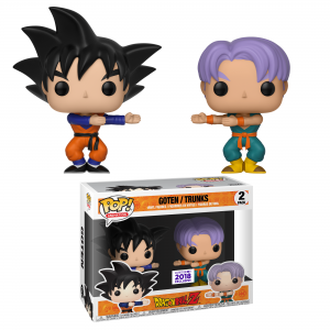 "Funimation & BoxLunch Reveal Exclusive ""Dragon Ball Z"" Funko Pop! Two-Pack for C2E2"