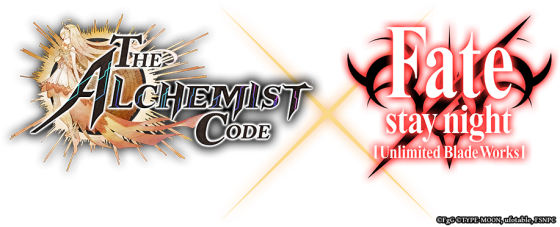 Fate-Stay-Alchemist-Code-560x227 FATE/STAY NIGHT [UNLIMITED BLADE WORKS] Crossover with THE ALCHEMIST CODE Coming this Spring