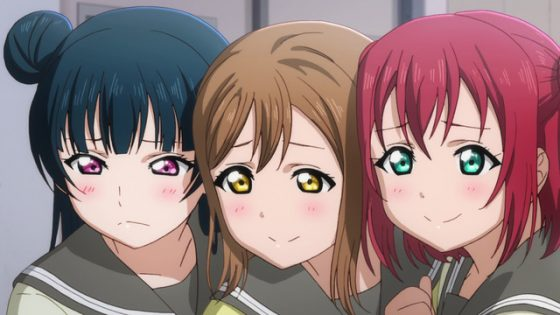 Love-Live-Sunshine-Dia-crunchyroll Top 10 Idol Anime [Updated Best Recommendations]