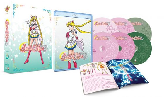SailorMoon-Season4-SuperS-Set1-ComboPack-3D-340x500 VIZ Media Announces Home Media Release Of SAILOR MOON SUPER S SET 1