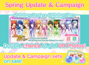 "Brand New Spring Campaign for ""Utano☆Princesama Shining Live"" Officially Kicks Off!"