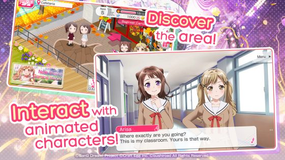"Banggirls-560x293 English Version of Popular Rhythm Game ""BanG Dream! Girls Band Party!"" Now on iOS & Android"