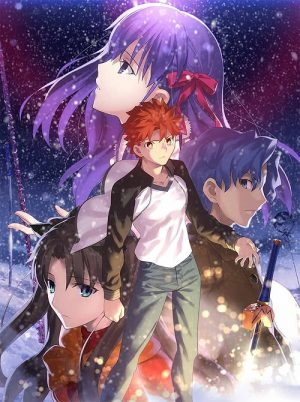 FSN-HF-KV02_withlogo-353x500 Fate/stay night [Heaven's Feel] THE MOVIE I.presage flower hits Theaters June 5th and 7th!