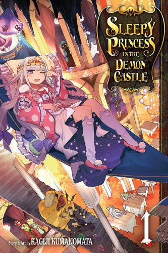 SleepyPrincessInTheDemonCastle-GN01-333x500 VIZ Media Launches New Shojo Manga Series - SLEEPY PRINCESS IN THE DEMON CASTLE