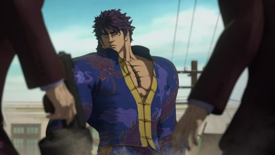 Souten-no-Ken-Wallpaper Souten no Ken (Fist of the Blue Sky): Anime vs Manga
