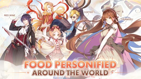 LOGO-Food-Fantasy-560x295 PRE-REGISTRATION for Food RPG/Adventure Title, Food Fantasy is NOW Underway!