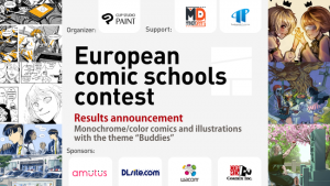 CELSYS Announces Winners of the European Comic Schools Contest Entered by 26 Schools