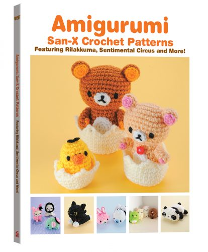 AmigurumiSanXCrochetPatterns-3D-414x500 VIZ Media Details Summer Release Of AMIGURUMI: SAN-X CROCHET PATTERNS