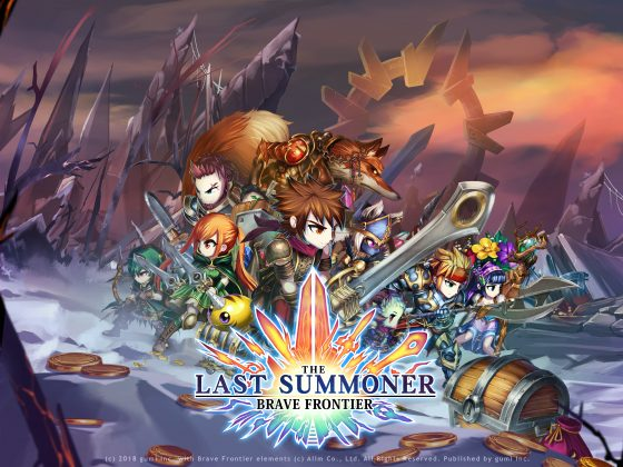 "Brave-Frontier-The-Last-Summoner_LandScape_KeyArt2-560x420 gumi Reveals Upcoming Mobile JRPG ""Brave Frontier: The Last Summoner"" with First Video"