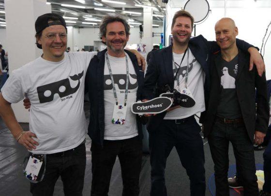 Cybershoes-Michael-667x500 VR Cybershoes Demo Impressions (E3 2018)