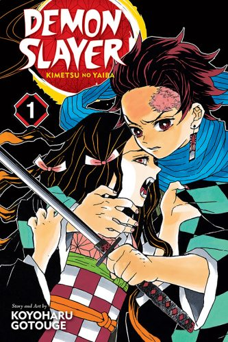 DemonSlayer-GN01-333x500 VIZ Media Launches New DEMON SLAYER Manga & ONE PIECE Art Book