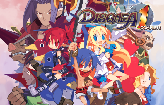 Disgaea-1-logo-560x359 Disgaea 1 Complete Arrives on Nintendo Switch and PS4 October 9!