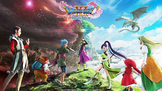 Dragon-Quest-xi-logo Special Editions of DRAGON QUEST XI Unveiled at E3 2018!