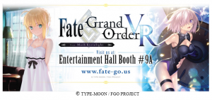 Fate/Grand Order Take Over Anime Expo with VR Experience!