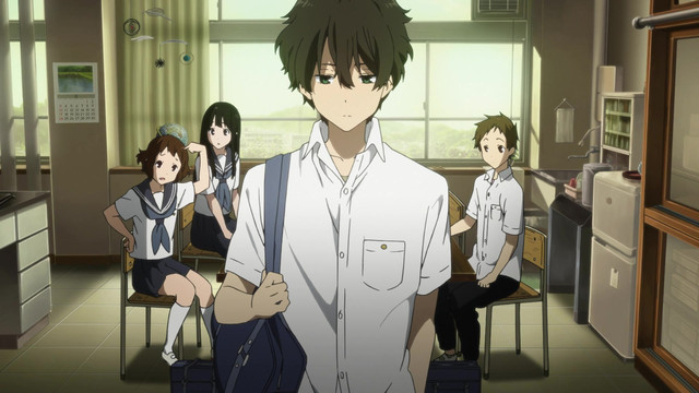 Houtarou-Oreki-Hyouka-Capture Top 10 Loners in Anime
