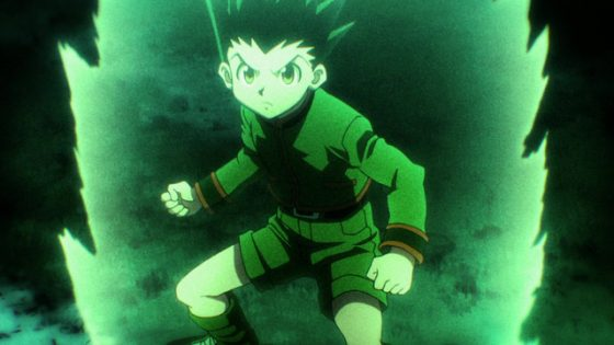 Hunter-X-Hunter-Gon-crunchyroll-560x315 Heated Moments in Anime: Gon VS Gido Rematch