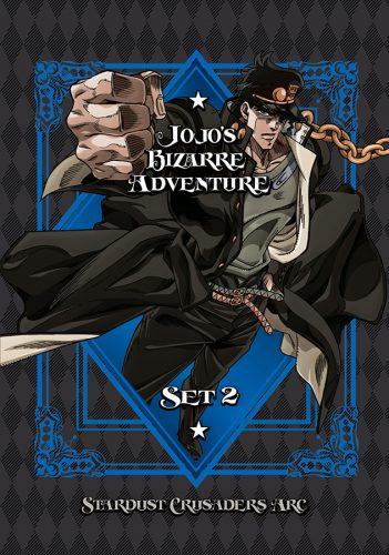 JoJosBizarreAdventure-Set02-StardustCrusaders-DVD-351x500 VIZ Media Details Home Media Release Of JOJO'S BIZARRE ADVENTURE: STARDUST CRUSADERS