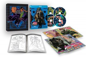 VIZ Media Details Home Media Release Of JOJO'S BIZARRE ADVENTURE: STARDUST CRUSADERS