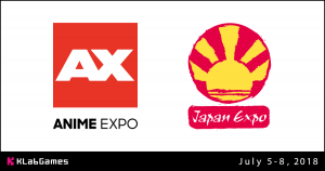 KLabGames will Make their Debut at Anime Expo and Japan Expo with Booth, Panel & More!