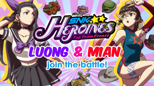 [E3 2018] Two More Ladies Join SNK HEROINES ~Tag Team Frenzy~! Knockout Duo! Luong & Mian!