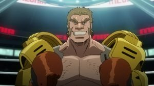 Real Megalo Boxing: Analyzing Megalo Box with a Real Boxer Round 3