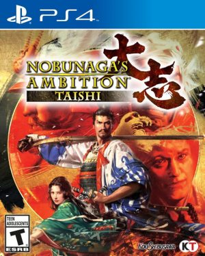 NobunagasAmbition_Taishi_Packshot_NA-300x374 Nobunaga's Ambition Taishi - PlayStation 4 Review