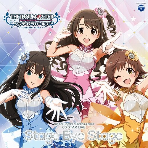 THE-IDOLM@STER-The-Idolmaster-CINDERELLA-GIRLS-CG-STAR-LIVE-Stage-bye-Stage-500x500 Weekly Anime Music Chart  [06/25/2018]