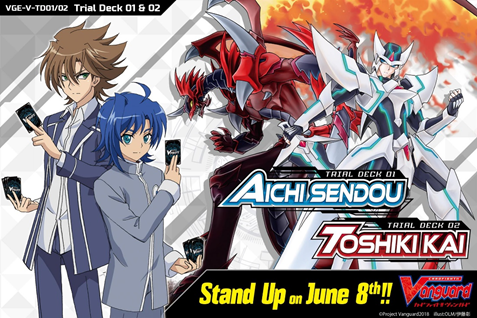 Vanguard-1 First Wave Of New English Edition Cardfight!! Vanguard Products Hits The Shelves!