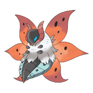 Volcarona-pokemon-Wallpaper Top 10 5th Gen Pokemon