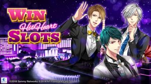 "NTT Solmare and Sammy Networks Presents ""Win His Heart Slots"", a Casino Slots and Dating Sim Fusion!"