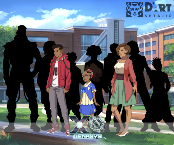 AnimeExpoPremiere-Graphic-560x213 D'ART Shtajio Drops Exclusive Promotional Image from Upcoming XOGENASYS Anime!