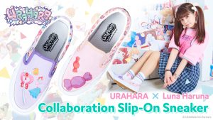URAHARA x Luna Haruna Collaboration Slip-Ons are Now Accepting Pre-Orders!