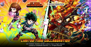 "Fight Evil During the Brave Frontier Collaboration with ""My Hero Academia"""