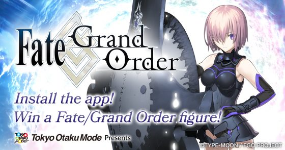 Fate-Grand-Order-Giveaway-Logo-560x294 Tokyo Otaku Mode Announces a Giveaway to Promote and Celebrate the Release of Fate/Grand Order's Sixth English Chapter